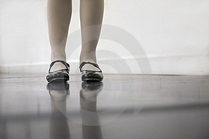 Tap Dance Class Stock Image