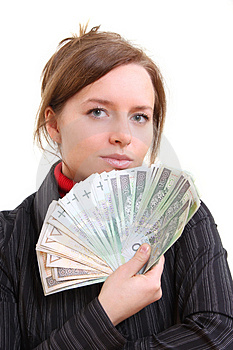 Giving Money Stock Images - Image: 5124734
