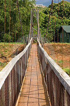 Hawaii Walking Bridge Stock Photos - Image: 5124883