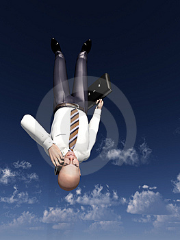 Falling Business 6 Stock Images - Image: 5124894