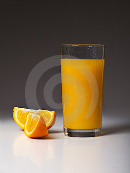 Orange Segments And Juice Stock Photography - Image: 5134752
