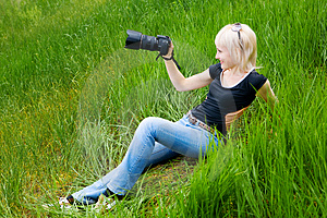 Making Photos Royalty Free Stock Photos - Image: 5136468