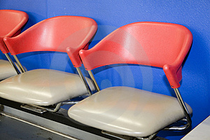 Waiting Room Chairs Royalty Free Stock Photography - Image: 5141137