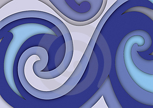 Layers And Spirals Stock Images - Image: 5142274