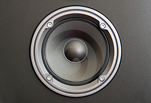 Middle Frequency Speaker Royalty Free Stock Image - Image: 5144246