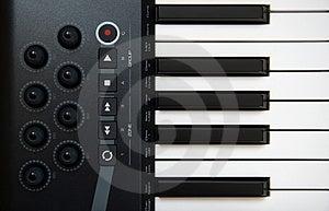 Professional MIDI-keyboard Stock Photos - Image: 5144273
