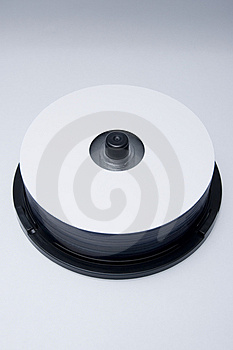 Blank Dvd Cd Hd Bluray Stock Photography - Image: 5144502