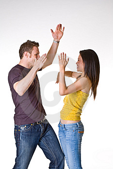 Casual Romantic Couple Stock Images - Image: 5145764