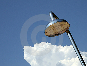 Chrome Shower Royalty Free Stock Photos - Image: 5153068