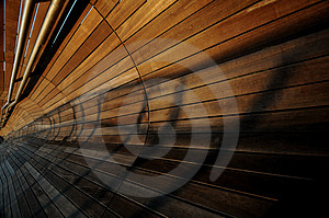 Converging Lines And Shadows Stock Photography - Image: 5157092
