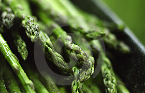 Asparagus close-up Royalty Free Stock Photography