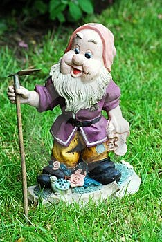 Garden Gnome Stock Images - Image: 5165924