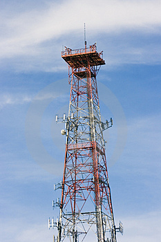 Communications Tower Stock Photos - Image: 5172463