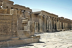 Philae Temple Colums Stock Photo - Image: 5182420