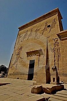 Philae Island Hieroglyphs - Egypt Stock Image - Image: 5182661