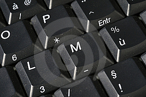 Computer Laptop Keyboard Stock Photos - Image: 5183173