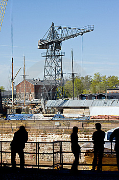 Dry Dock Royalty Free Stock Photo - Image: 5186995