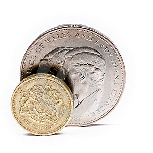 One Pound Sterling Stock Photos - Image: 5188803