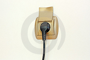 Power Plug And Socket Stock Images - Image: 5189374