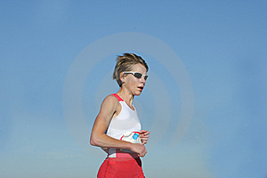 Female Athlete Stock Photos - Image: 5190183