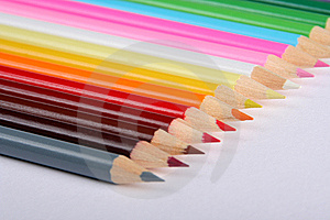 Colorful Pencils Stock Photography - Image: 5191422