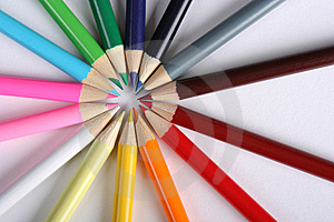 Colorful Pencils Royalty Free Stock Image - Image: 5191576