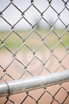Chain fence Stock Photos