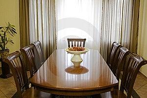 Dinning Room Stock Photo - Image: 5193870