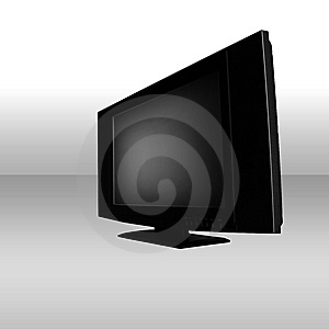 Flat Screen Stock Photo - Image: 5194020