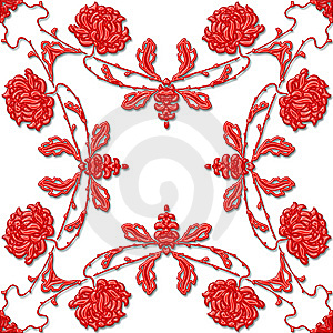 Floral Ornament Royalty Free Stock Photo - Image: 5194945