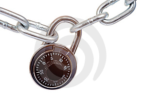 Lock and Chain Free Stock Photo