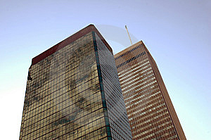 High Rise Buildings And Sky Stock Photography - Image: 5198362