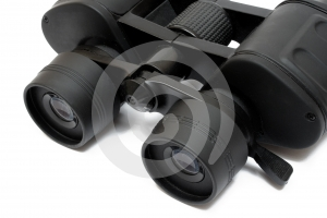 Binoculars Front - Detail View Free Stock Photo