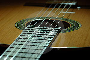 Spanish Guitar Royalty Free Stock Photography - Image: 523677
