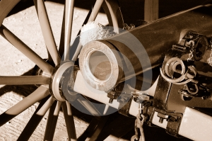 Sepia Canon Royalty Free Stock Image - Image: 524416