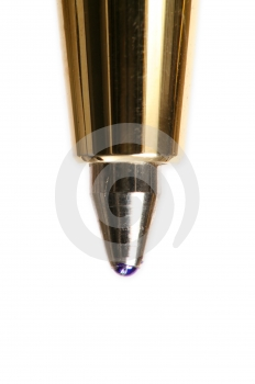 Extreme Macro Of Pen Stock Photo - Image: 527660