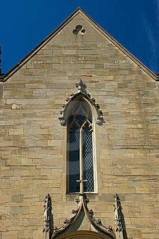 Window In Gothic Architecture Style Royalty Free Stock Images - Image: 5201229