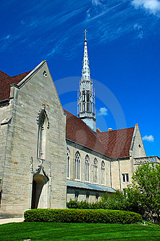 Gothic Architecture Style Building Royalty Free Stock Photos - Image: 5201238