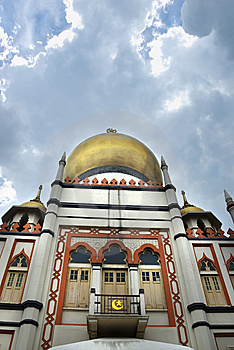 Templo Muçulmano Imagens de Stock - Imagem: 5203724