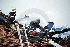 Fireman Stock Image - Image: 5204551