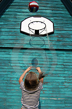 Playing Ball Royalty Free Stock Photos - Image: 5204698