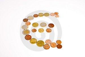 Símbolo Do Euro Fotos de Stock - Imagem: 5205013