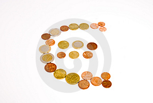 Euro Simbolo Fotografie Stock - Immagine: 5205013