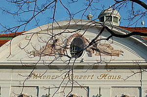 Vienna Concert House Stock Image - Image: 5205041