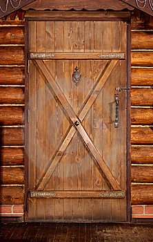 Wooden Door Stock Image - Image: 5206881