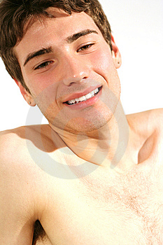 Charming Young Italian Model Royalty Free Stock Image - Image: 5207716