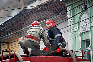 Fireman Stock Image - Image: 5207881