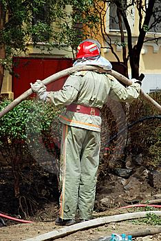 Fireman Stock Photo - Image: 5208210