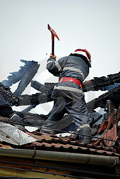 Fireman Royalty Free Stock Photography - Image: 5208347