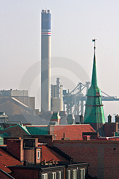 City And Industry Stock Images - Image: 5209964